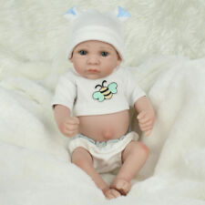 Mini Reborn Baby Doll 10 inch Vinyl Baby Alive Toy Gift little reborn doll Boy