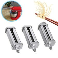 3pcs/set For KitchenAid Pasta Roller Mixer Roller Cutter Sand Mixer Attachment