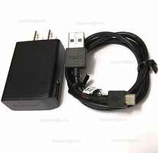 EP800  Sony Ericsson Home Wall Travel Adapter Charger + EC803 USB Cable