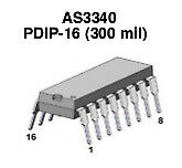 AS3340 VCO (eq. CEM3340) - 4 pcs