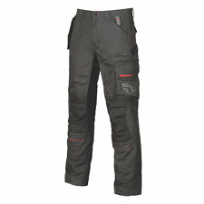 NEW UPOWER RACE CARBON WORK CARGO TROUSERS 38W X 31L BLACK HOLSTER POCKETS -BX 7