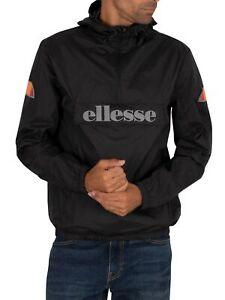 Ellesse Men's Acera Pullover Jacket, Black