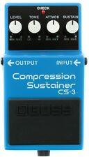 Boss CS-3 CS3 Compression Sustainer Guitar Effects Pedal New