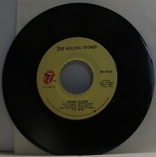 "THE ROLLING STONES Brown Sugar 7"" Single USA Pressing 45rpm Vinyl VG"