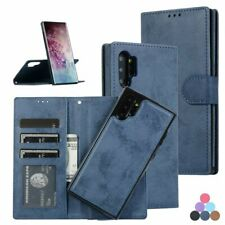 Cell Phone Case Leather Wallet Flip Cover Mobile Card Sleeve Vintage Accessories