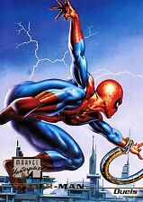 1996 Marvel Masterpieces #64 Spider-Man (Duels) NM - Combo Shipping Discounts
