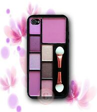 Makeup Palettes Eye Shadow Case - Rubber Silicone Case For iPhone X 8 Samsung S9