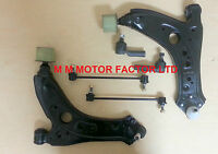 FOR SKODA FABIA (2000-) FRONT LOWER WISHBONE ARMS + BUSHES,LINKS,TRACK ROD ENDS