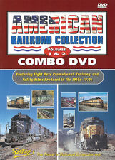 American Railroad Collection Volumes 1 & 2 Combo DVD
