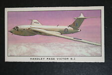 Handley Page Victor B2 Bomber   RAF    Illustrated  Card # VGC