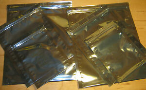 FARADAY CAGE ESD BAGS – 6 BAGS IN 3 ASSORTED SIZES - Survivalists Preppers EMP