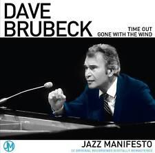 2 CD BOX DAVE BRUBECK JAZZ MANIFESTO TAKE FIVE BLUE RONDO BASIN STREET GEORGIA