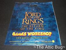 Lord of the Rings: The Return of the King / Games Workshop ~ Plastic Carrier Bag