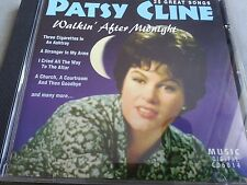 Patsy cline Walkin' After Midnight.