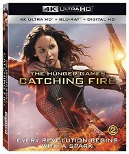 Hunger Games:Catching Fire (4K UHD, Bluray, case, coverart) Used,Good Condition!