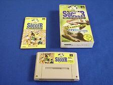 FIFA INTERNATIONAL SOCCER for Nintendo Super Famicom, w/Box, Tested, SNES