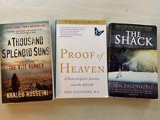 "Lot of 3 ""New York Times Best Sellers"" Novels Paperbacks"