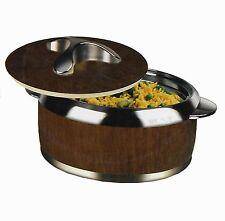 Triyo Hot Pot 2 Ltr. (67 Oz) Insulated Steel Inner Food Server Storage Casserole