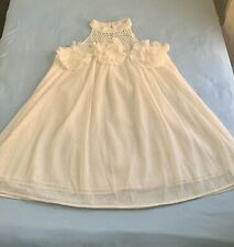 (NWT) JJ's Fairyland Crocheted Mock Neck Dress