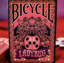Limited Edition Bicycle Ladybug (BLACK) Playing Cards