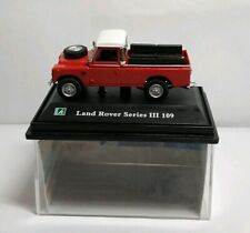 CARARAMA - 1:72 DIECAST - LAND ROVER SERIES III 109 - RED