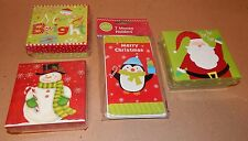 Christmas Money Holders & Gift Card Boxes 4 Items Total Mix Lot By Big Lots 92T