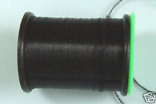 100m Fil PLAT montage NOIR 6/0 pour dubbing montage mouche fly tying thread