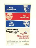 The Manchurian Candidate (VHS, 1994) Video Tape Frank Sinatra - NEW Sealed
