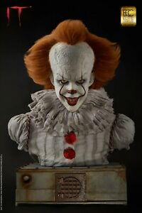 -=] ELITE CREATURE - IT: Pennywise 1:1 Scale Bust [=-