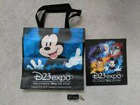 Disney D23 Expo 2019 Bag Book Lanyard