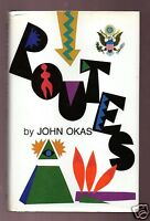 ROUTES BY GREAT AUTHOR JOHN OKAS SIGNED 1ST 2000 COPIES-RARE-VERY GOOD CONDITION