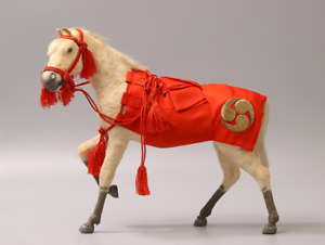 "Japanese Antique Sacred Horse of Shrine ""Shinme"" Doll 1918"