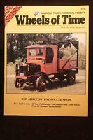 """Wheels Of Time Truck Magazine 1922 Truck Hendrickson Motor Co.  """"One of a Kind"""""""