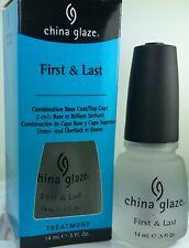 China Glaze First Last Combination Base Coat & Top Coat Nail Treatment