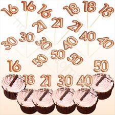 30 45 Edible Chrsitening Personalised Bunting Cake Birdie PinkCupcake Topper