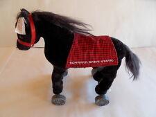 Steiff horse Fulda wheels special ed. button flag stuffed animal Germany 1090