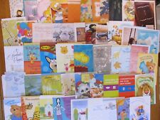 Lot of 100 New Assorted Hallmark Gibson Norcross Everyday Greeting Cards