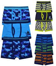 Boys 3 Pack Boxers Pants Kids Cotton Rich Underwear 3 PACK Brief Shorts Age 2-13