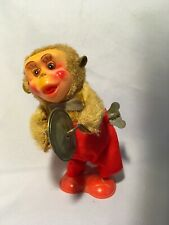 Vintage Cymbal Playing Monkey Vintage Wind Up Toy