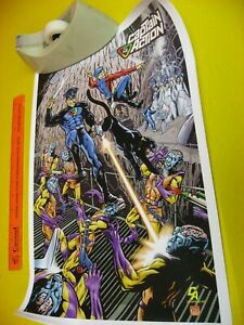 RARE 2007 MOEBIUS 40TH ANNIVERSARY CAPTAIN ACTION MAIL ORDER POSTER 12 x 18