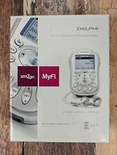 DelPhi MyFi xm2go Portable Personal Satellite Radio Receiver with Accessories