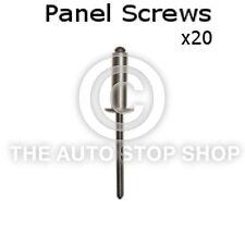 Panel Screw Nail 2,9 Renault Kangoo Range/Koleos etc Pack of 20 Part 10623re