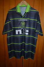 CELTIC SCOTLAND 1999/2000 AWAY FOOTBALL SHIRT JERSEY UMBRO LARSSON ERA
