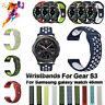 Bracelet Watch Strap 22mm Silicone Band For Samsung Galaxy Watch 46mm Gear S3