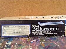 "Kohler K-9819-18-Cp Bellamonte Double Towel Bar -18""- Polished Chrome"