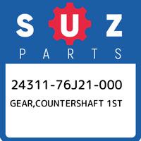 24311-76J21-000 Suzuki Gear,countershaft 1st 2431176J21000, New Genuine OEM Part
