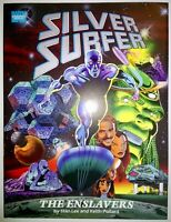 Marvel Graphic Novel Silver Surfer The Enslavers 1st Print HC DJ Apprx 9.8 1990