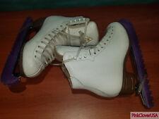 Jackson Classique Mark IV 1890 Figure Ice Skates with Blade Guards size 4C