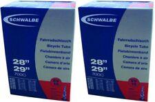 """2 x Schwalbe Schlauch Nr. 19 SV 29"""" / 27,5"""" Sclaverandventil Fahrradschlauch"""