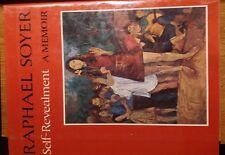 FIRST PRINTING Self-Revealment A Memoir by Raphael Soyer (1969, Hardcover)